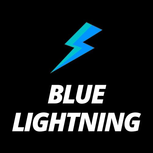 Blue Lightning Logo